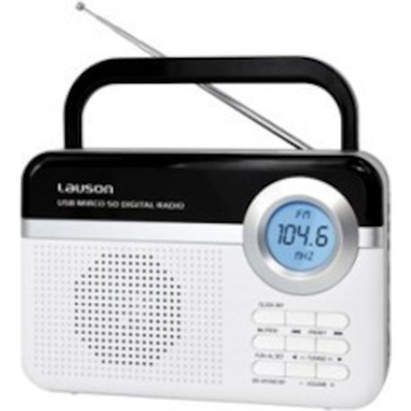 lauson radio portatil