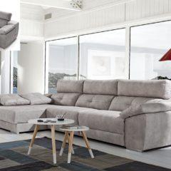 Sofá Chaise longue elegante y actual