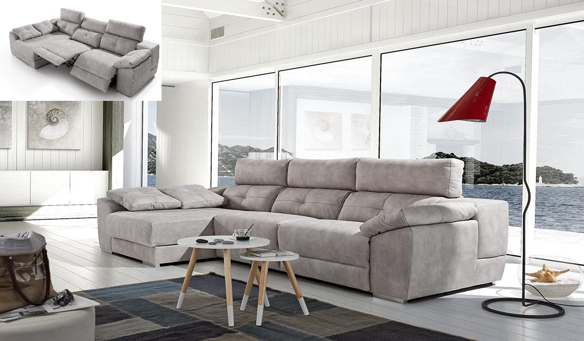 Compra online sof chaise longue memory rolen el ctrico for Ofertas chaise longue online