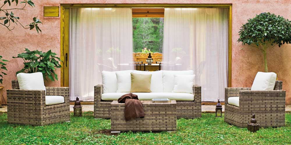 Muebles para exterior zona chill out