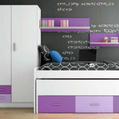 Dormitorio juvenil max ahorro 2017
