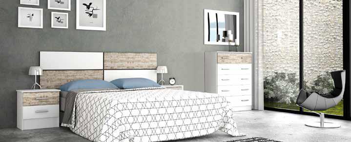 Muebles de dormitorio de matrimonio de estilo n rdico en for Dormitorio matrimonio estilo nordico