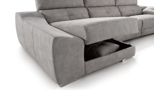 sofa chaise longue electrico relax