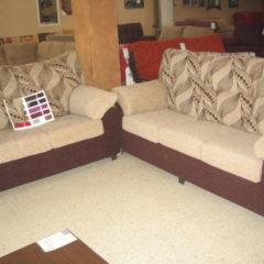 conjunto de sofás de 2 piezas
