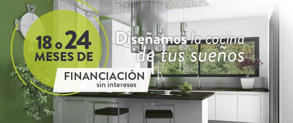 Diseño y equipamiento de cocinas para hogares con financiación