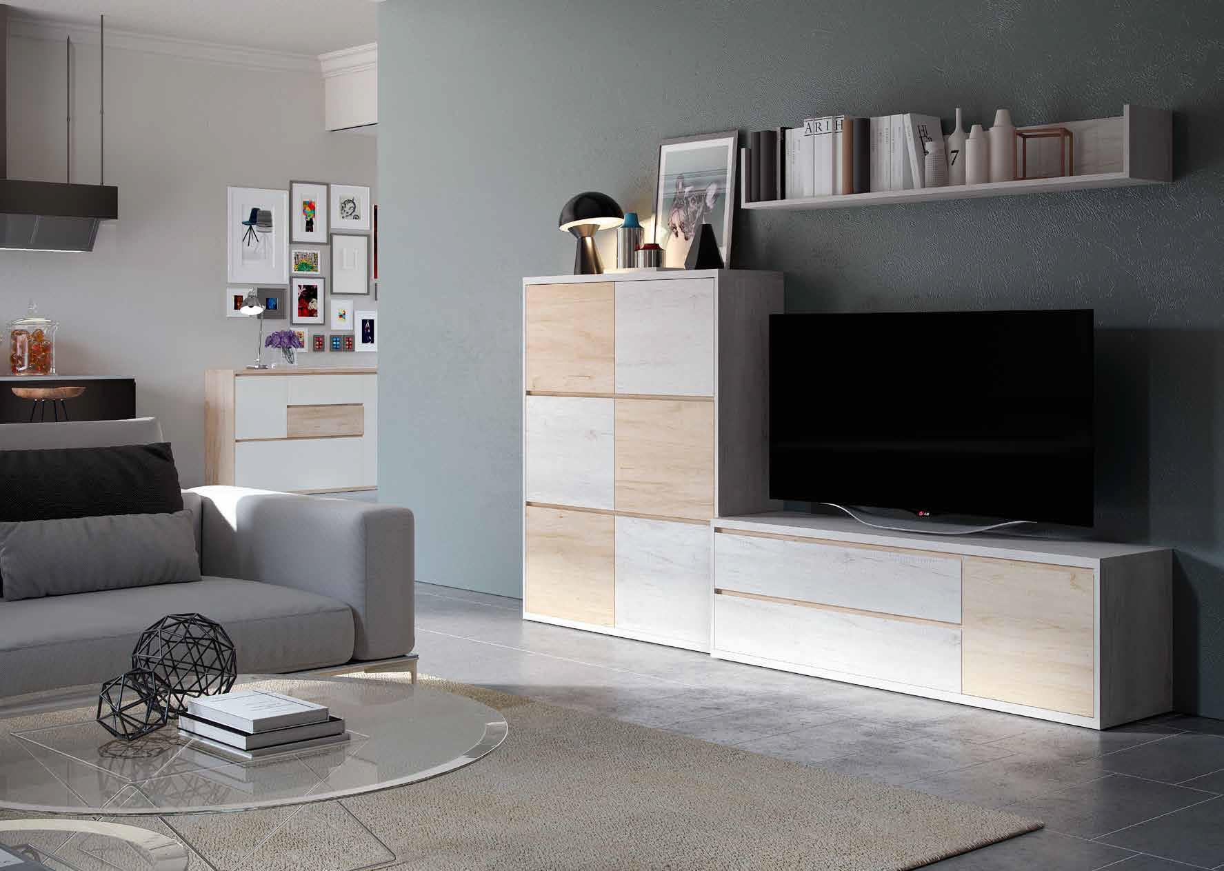 Compra online composici n muebles de sal n 5 am rica for Muebles compra