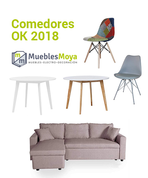 Mesas y sillas de comedor 2018