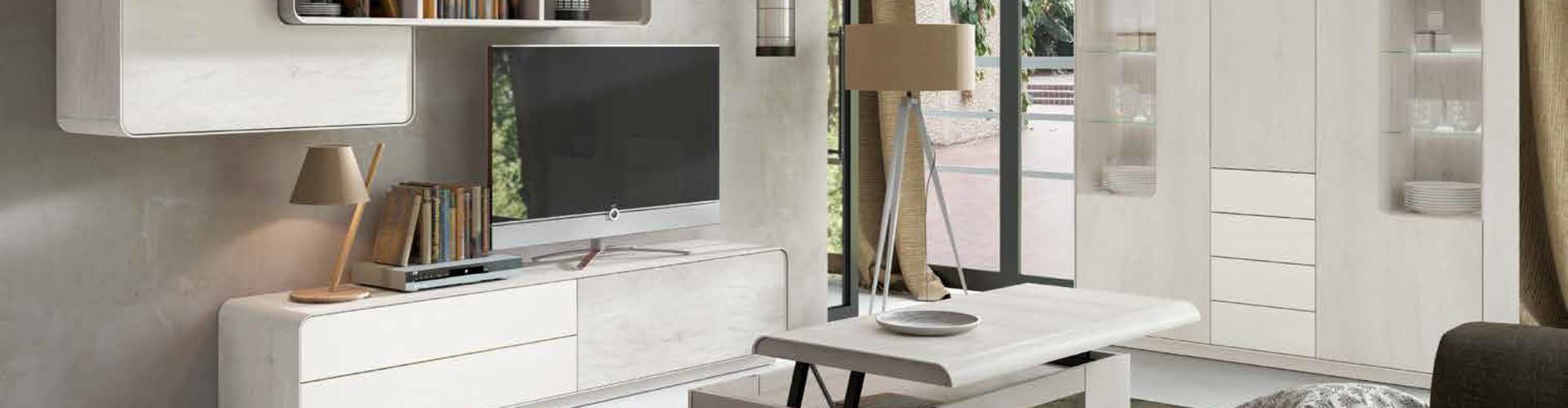 Mesas de centro para salones modernos en Muebles Moya