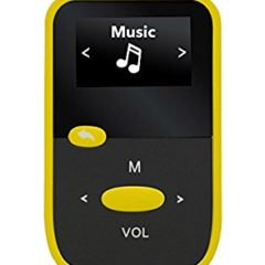 Reproductor MP3 SYTECH SY-7316AM 4 GB Amarillo