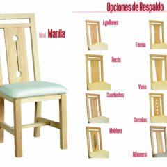 Silla MANILA asiento pretapizado (56)