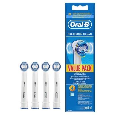 BRAUN Recambio Cepillo Dental EB20-3-1 4 RECAMBIOS