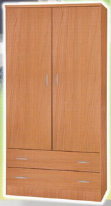 Armario 2 Puertas Walnut New Lifting NLAR2PWA (449)