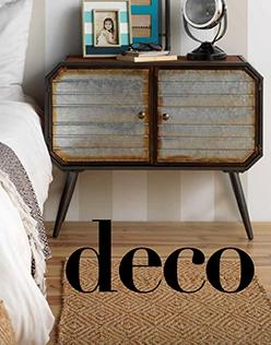 Portada de catálogo de decoración de muebles