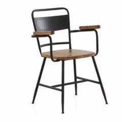 sillón estructura metálica color negro