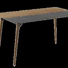 Mesa de comedor madera metal