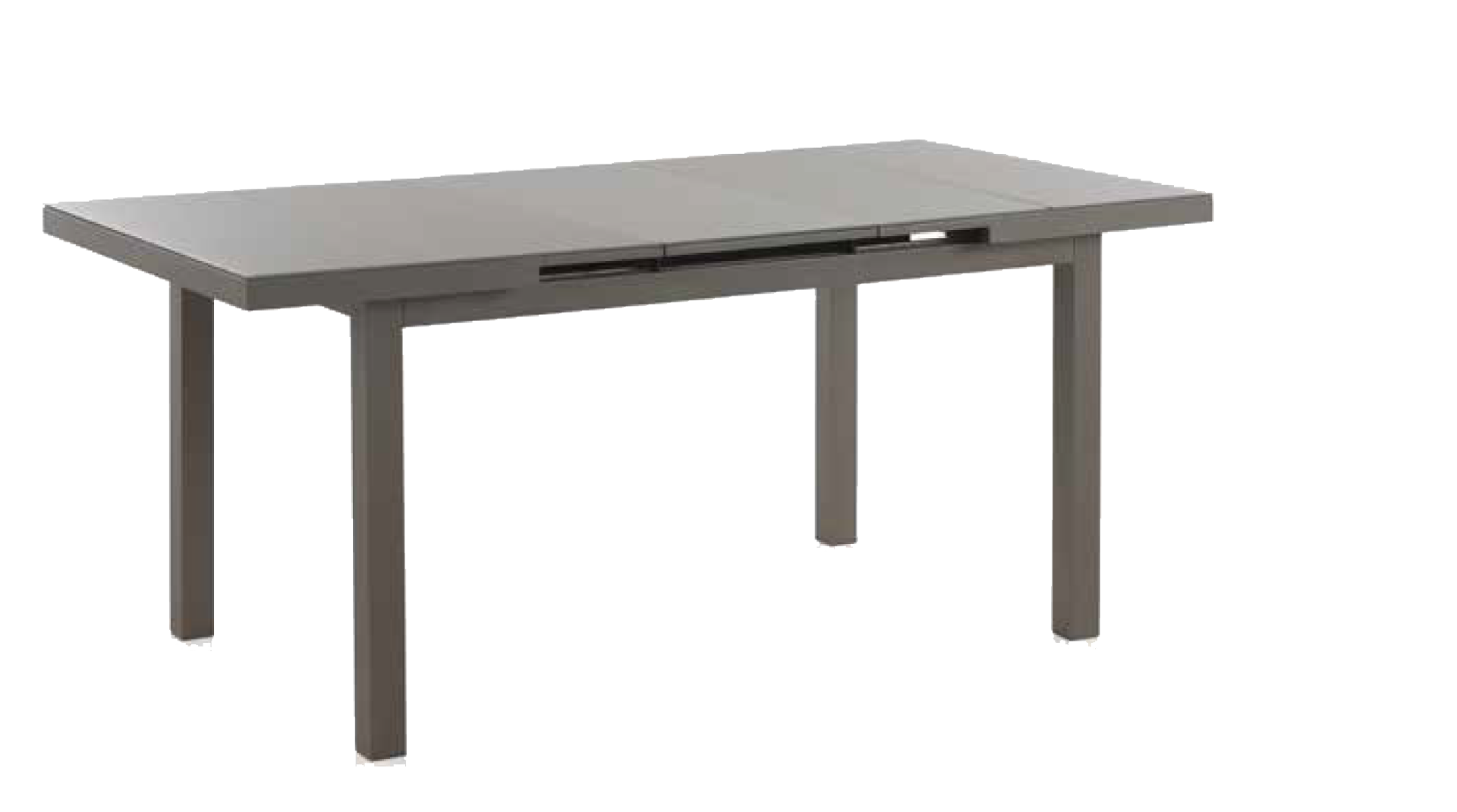 Mesa extensible para jard n o terraza muebles moya tienda online - Mesa blanca extensible ...