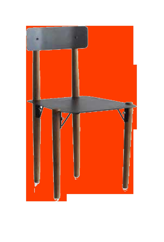Silla de madera metal muebles moya tienda online for Catalogo de sillas para comedor de madera