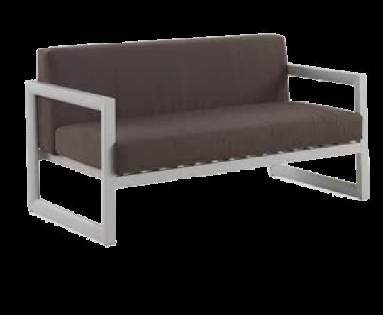 Sofa del conjunto de jardín