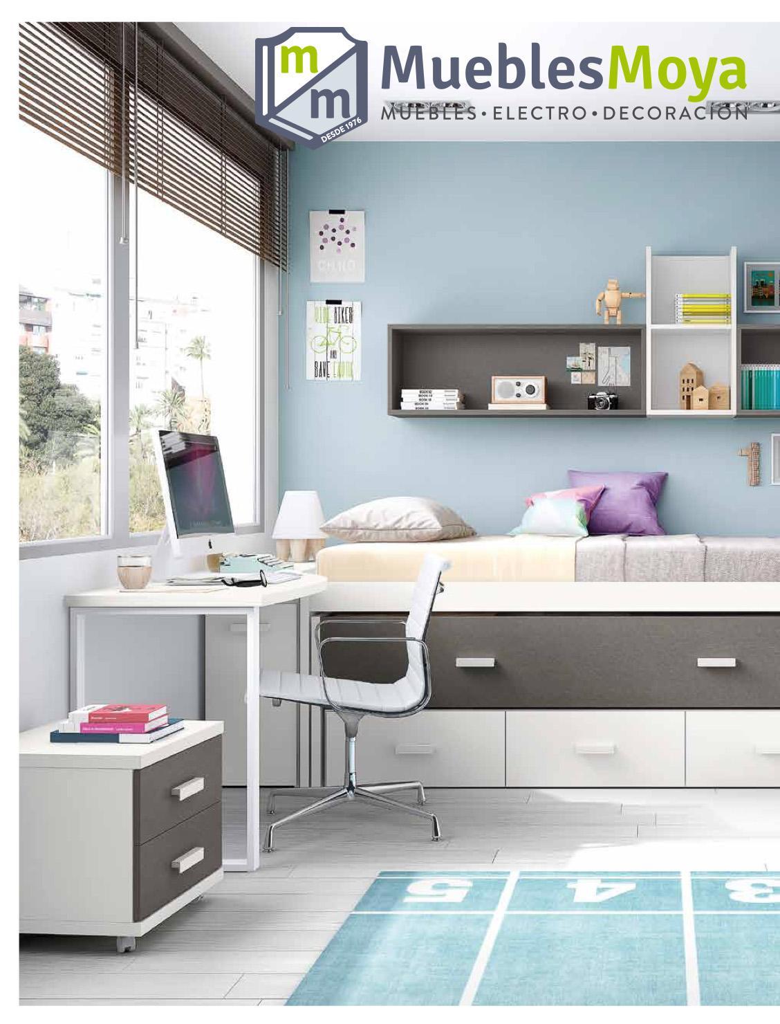 Catálogo dormitorios juveniles 2018