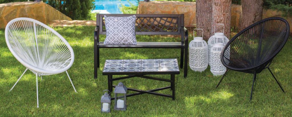 Conjunto de jardín y terraza - sillones acapulco