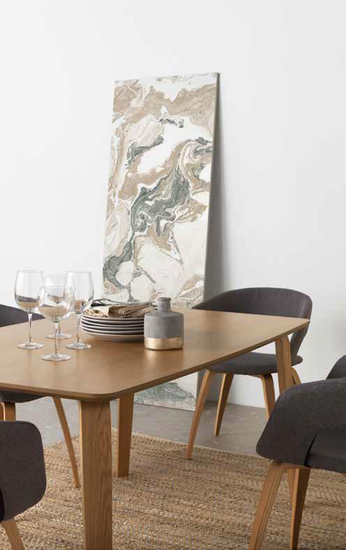 Conjunto comedor 4 sillas y Mesa rectangular