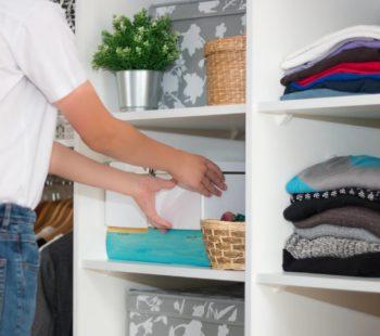 Cómo mantener el orden en casa y armarios