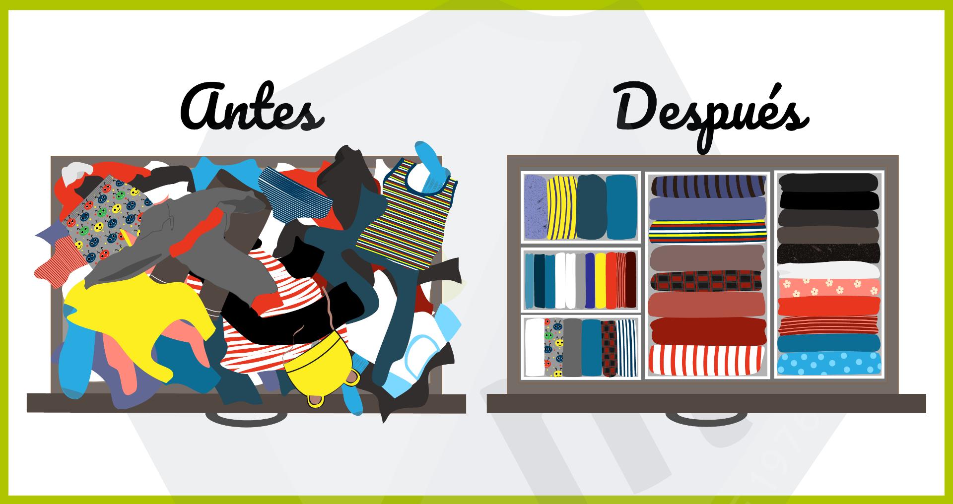Consejos sobre cómo ordenar el armario de tu casa