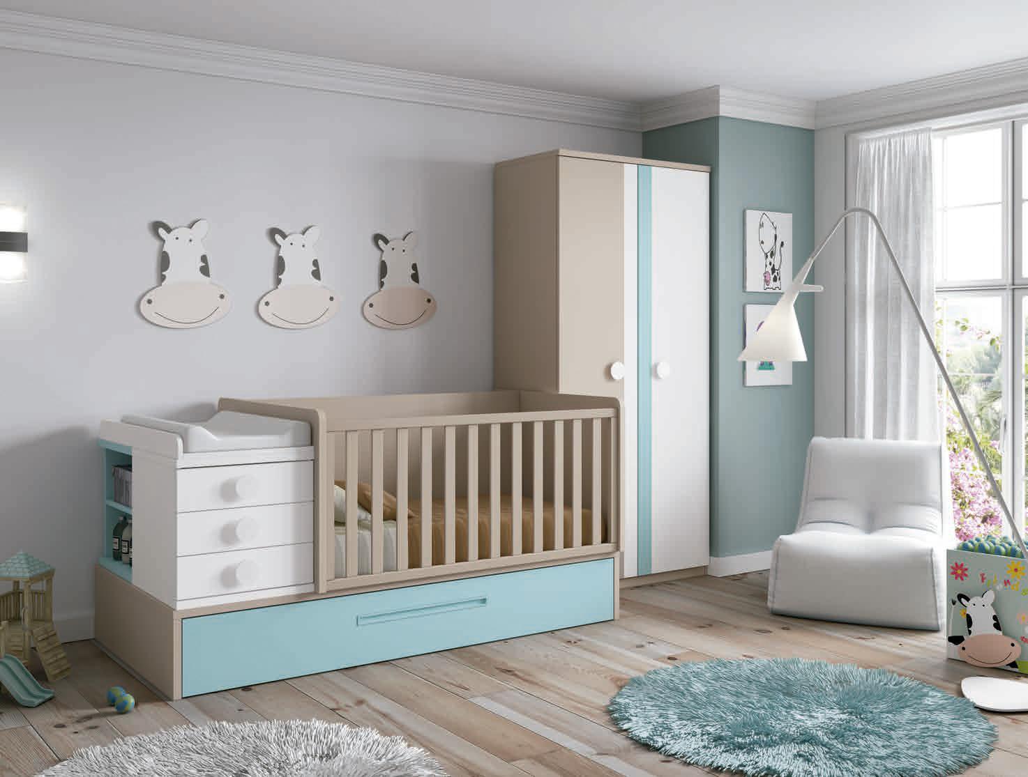 De qué color pintar un cuarto infantil - Consejos de decoración