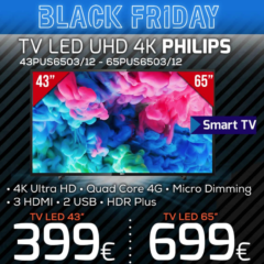 "TV Led UHD 4K Philips 43/65"" - Televisores - Compra Online"