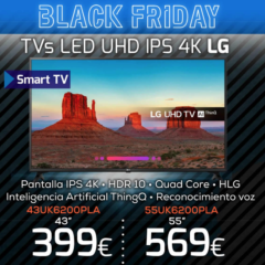 televisor led uhd ips