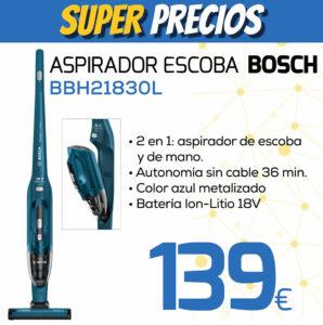 Aspirador escoba BOSCH BBH21830L