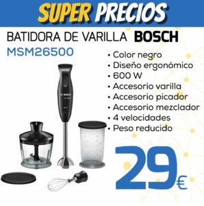 Batidora de varilla BOSCH MSM26500