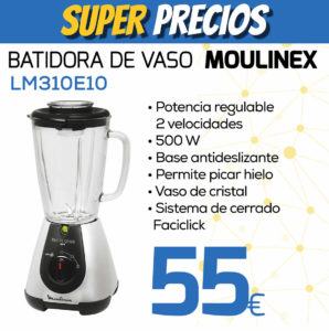 Batidora de vaso Moulinez LM310E10