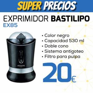 exprimidor BASTILIPO EX85