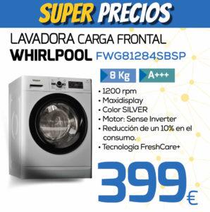 lavadora whirlpool FWG81284SBSP