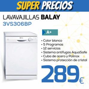 lavavajillas balay 3VS306BP