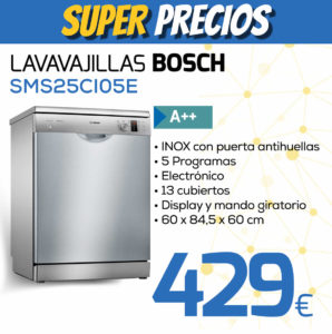 lavavajillas bosch SMS25CI05E