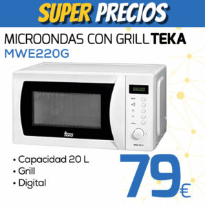 microondas con grill TEKA MWE220G