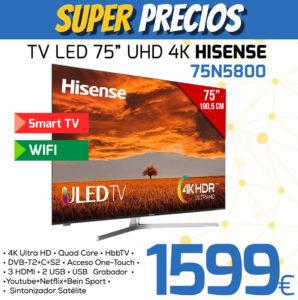 TV LED 75 HISENSE 75n5800