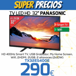 TV LED HD 32 PANASONIC