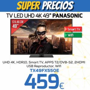 TV LED UHD 4K 49 PANASONIC