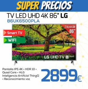 TV LED UHD 4K 86 LG