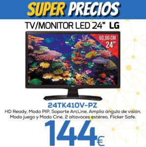 TV MONITOR LED 24 LG