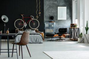 Ejemplo en la tendencia de decoración minimista