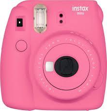 Cámara Fotográfica Instantánea FUJIFILM MINI 9 pink