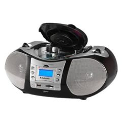 Radio CD AUDIOSONIC CD-1586 GRANDE MP3-USB NEGRO