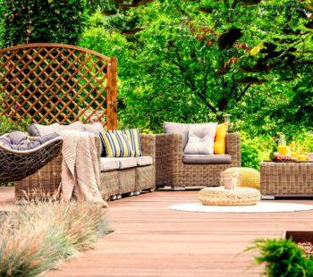 Muebles de jardín para el verano