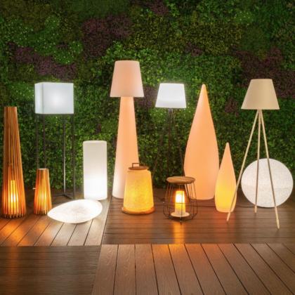 Iluminación exterior lámparas