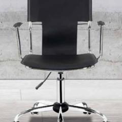 silla para oficina negra
