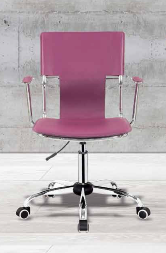Silla Para Oficina Color Violeta